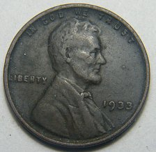 Buy 1933 P Lincoln Wheat Cent