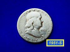 Buy 1951-S HALF DOLLAR ☆  (#1023)a