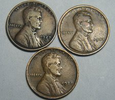 Buy Wheat cent coin LOT 1939 S 1938 D 1937 S ADDITIONAL COINS SHIP FREE