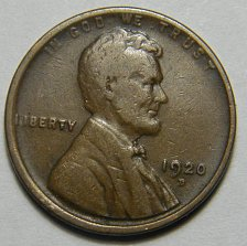 Buy 1920 D Lincoln Wheat Cent   218250   B4