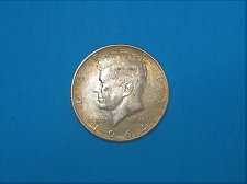 Buy 1964-D Kennedy Half Dollar ** Sharp Unc Details ** 90% Silver