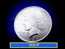 Buy 1922-P PEACE Dollar  ☆ 90% Silver     (#5426)a