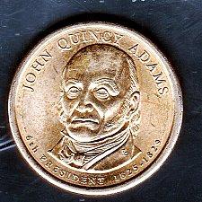 2008 D John Q Mint Roll Adams Presidential Dollar ~ Pos A ~ From U.S