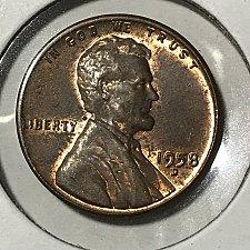 1958 D Lincoln Wheat Cent Bronze Composite Value - Imagez co