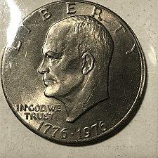 IKE 1971 DOLLAR Eisenhower FROM hoard