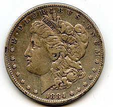 Buy 1884 Morgan Silver Dollar