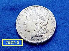 "Buy 1921-S Morgan Silver Dollar ☆ ""XF-45"" ☆ (#5411)"