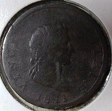 Buy 1811 GREAT BRITAIN CONDOR HALF PENNY TOKEN!