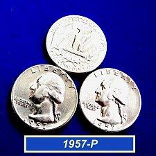 "Buy 1957-P Washington Quarter  ☆  ""Circulated""  ☆  (#2074)a"