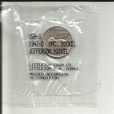 Buy 1947  D  JEFFERSON NICKEL