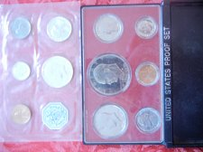 Buy 1964 US Proof Set and 1976 US Proof Set FREE SHIPPING