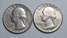 1981 P Washington Quarter Coin Value Prices, Photos & Info