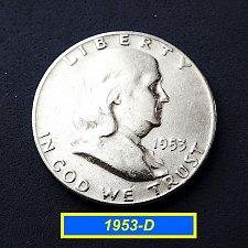 Buy 1953-D Half  ☆ Circulated ☆  (#1164)a