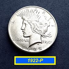 Buy 1922-P PEACE Dollar  ☆ 90% Silver     (#5578)a