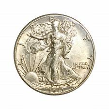 Buy 1943 D Walking Liberty Half Dollar - Gem BU / MS / UNC