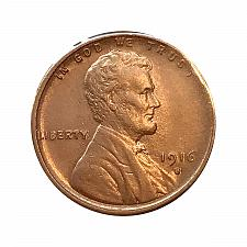 Buy 1916 S Lincoln Wheat Cent - Choice BU / MS / UNC