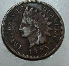1905 Indian Head Cent Bronze Composite Penny Value And Prices