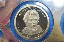 2008-P Andrew Jackson  Pres Dollar AU Condition...FREE SHIPPING...