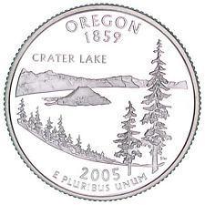 2005 D Oregon Quarter  XF **FREE SHIPPING**