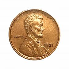 Buy 1921 S Lincoln Wheat Cent - Choice BU / MS / UNC