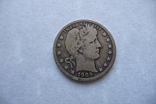 Buy 1909-S Barber Quarter