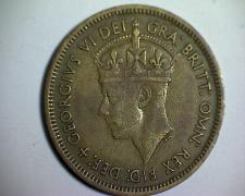 Buy 1952 BRITISH WEST AFRICA ONE SHILLING