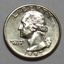 1993 P Washington Quarter Coin Value Prices, Photos & Info