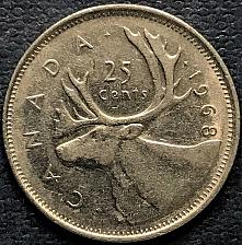 Buy Canada 1968 = 25 Cents