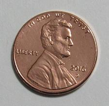 2016-d 2016 d 2016d Lincoln shield cent penny uncirculated full roll OBW