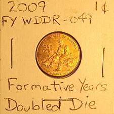 """2009-D Lincoln Memorial Cent  Roll  /""""Formative Years/"""" Brilliant Uncirculated BU"""