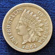 Buy 1864CN XF INDIAN HEAD CENT