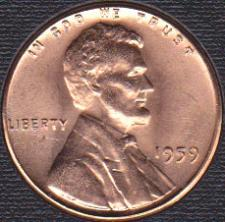 1959 Lincoln Memorial Penny Coin Value Prices, Photos & Info