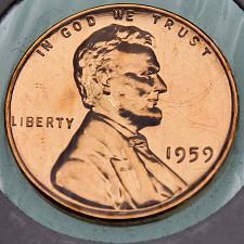 1959 Lincoln Memorial Penny Coin Value Prices, Photos & Info