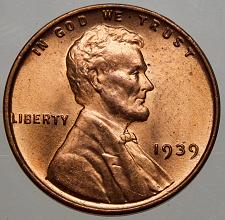 Buy 1939P Lincoln Wheat Cent#2