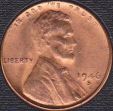 1921-S  LINCOLN WHEAT CENT #6