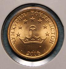 Buy Tajikistan 5 dirams 2006