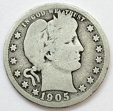 Buy 1905 S  Barber Quarter
