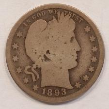 Buy 1893-S Barber Quarter