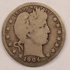 Buy 1904-O Barber Quarter