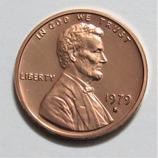 1979 S Lincoln Memorial Penny Type 1 - Filled S Coin Value Prices