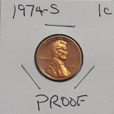 1974-S LINCOLN MEMORIAL CENT #5