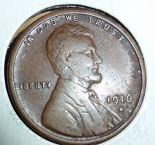 XF 1916-S Lincoln Wheat Cent /</> Extra Fine