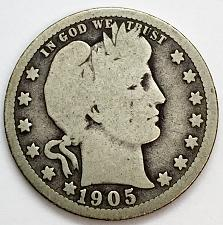 Buy 1905  Barber Quarter