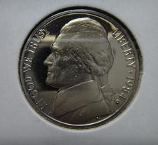 Buy 1984-S Jefferson Nickel Proof-66 (GEM+) Full Steps=6 SHARP STRIKE!