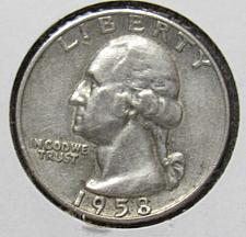 Buy 1958 D Washington Quarter
