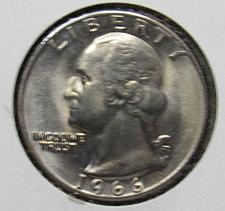 1966 Washington Quarter Coin Value Prices, Photos & Info