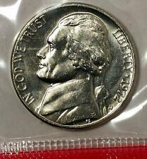 1972 P,D/&S Jefferson Nickels in BU and Proof condition