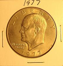 1977-P BU EISENHOWER  DOLLAR