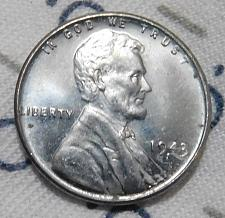 1943 S Lincoln Wheat Penny Steel Cent Coin Value Prices