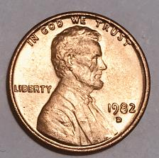 1983 Brass Penny Value